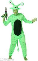 Déguisement Homme EXTRATERRESTRE Vert M/L Costume Adulte Alien Drole NEUF