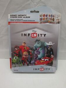 Disney Infinity Power Disc Album Holds 20 Wave 1 Power Discs NEW SEALED