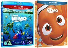 Finding Nemo 3D Blu-Ray 3D + 2D Disney with special slipcoverBrand New Free Ship
