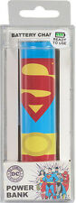 Superman 2600 mAh USB Portable Universal Power Bank External Battery Charger