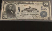 New listing 1902-$20 Db-the North Adams Nb, Ma-in Vf+ Condition. It's The Only Db Known.