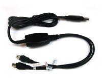 Datenkabel USB KFZ Ladegerät  230V 12V für Becker Traffic Assist Z103 Navigation