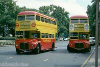 London Transport RM58 & 2188 Shoplinker Park Lane 1979 Bus Photo