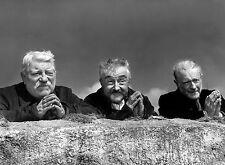 PHOTO LES VIEUX DE LA VIEILLE - JEAN GABIN ET PIERRE FRESNAY  - 11X15 CM  # 64