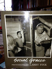 SOCIAL GRACES by Larry Fink fine first signed? 1984