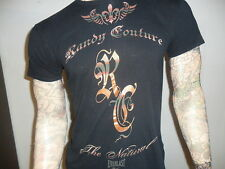 RANDY THE NATURAL COUTURE TSHIRT Everlast MMA UFC Black FREE USA SHIP Adult S/M