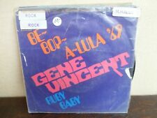 "7"" Gene Vincent ‎– Be Bop A Lula 69 - VG/EX - CBS - S 4596 - HOLLAND"