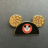 DLR - Mickey Mouse Ears Hat - Gold Jewels Disney Pin 43404