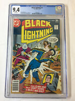1977 DC Comics BLACK LIGHTNING #3 ~ CGC 9.4