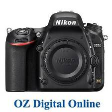 NEW Nikon D750 Digital SLR Camera Body Full Frame 24.3 MP 1 Year Aust Wty
