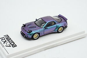 TM 1/64 Mazda RX-7 RX7 Chameleon version Diecast Car Model Collection Toy Gift