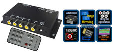 Premium Mini 4-Channel Video Recorder With Image Mirroring Support