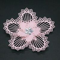 Flower Circle DIY Metal Cutting Dies Scrapbooking Photo Card Stamp Paper Cr N9A1