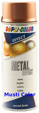 Lackspray Mettalik Sprühlack Effektlack Metallic-Look Metall Keramik Glas Farbe