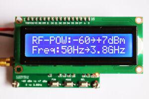 Digital RF power meter 50Hz~3.8GHz -60~+7 dBm