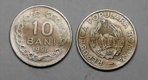 ROMANIA 10 Bani 1956