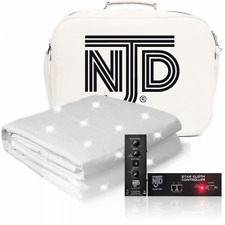 More details for njd starcloth 2.1m x 1.2m white retro fit with ties wedding dj booth backdrop