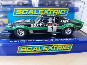 $1NR Scalextric C3612T Chevrolet Camaro #1 Faberge Racing   BNIB