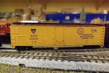 N-Scale Custom Painted  50' AMERICAN REFRIGERATED TRANSIT  REFER  # 91519
