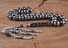 Islamic Prayer Beads, Real Erzurum Oltu Stone Tesbih tasbih, 9x10 mm, 33 beads