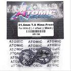Atomic AR-194 21.5mm T.S Rims Front for Mini-Z (-1 Offset) (Black)