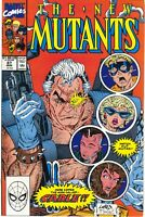 New Mutants 87 1st Series Marvel 1990 NM 1st Print Cable Deadpool Rob Liefeld