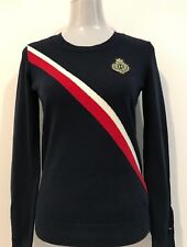TOMMY HILFIGER NAVY BLUE JUMPER / SWEATER SIZE S / P 100% COTTON