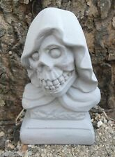 Gostatue skull reaper latex only casting mold Halloween mould