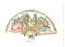 Cartolina E. Altara Ventagli Serie I Francia  (R76)
