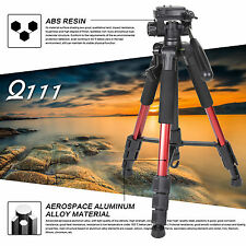 "NEW Zomei Q111 55"" Heavy Duty Aluminium Camera Travel Tripod + Free Carrying Bag"