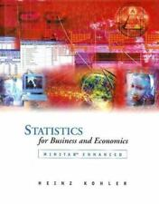 Statistics for Business and Economics with MINITAB CD-ROM