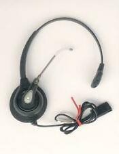 Plantronics SupraPlus HW251 Mono Voice Tube Desk Phone QD Headset - Fully Tested