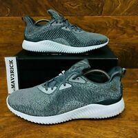 *NEW* Adidas Alphabouce HPC AMS (Men's Size 11) Athletic Shoes Gray White