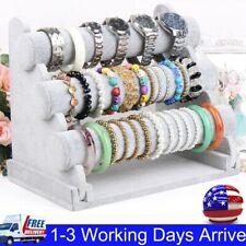 3-Tier Bar Bracelet Watch Table Jewelry Organizer Holder Rack Stand Display F1