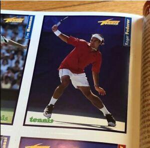 2001 Tennis Plus Hors Serie Magazine Issue 1 Roger Federer Rookie Card RARE