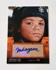 Topps Terminator Salvation Autograph Card Jadagrace