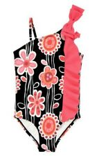 NWT Gymboree SWIM PURRFECTLY FABULOUS Ruffle Floral One-Piece Swimsuit Girl 4