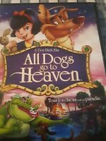 All dogs go to heaven - DVD animation - LIKE NEW