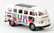 BREKINA 31837 VW Samba T1b Weltexpress H0 1 87