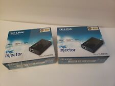 TP-Link TL-PoE150S Power Over Ethernet PoE Injector Adapter (LOT of 2)
