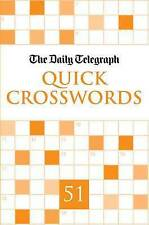 Daily Telegraph Quick Crosswords 51, Telegraph Group Limited, New Book