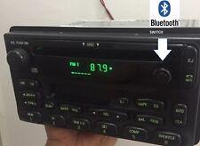 Ford Explorer 01 02 03 04 05 Radio AMFM CD Tape Bluetooth Capability OEM Stereo