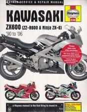 1990-2006 Zx600E Zzr600 Ninja Zx6 Zx600D Zx600 Haynes Service Repair Manual 9997 (Fits: Kawasaki)