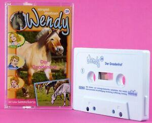 Wendy 29 Der Gnadenhof KIDDINX Teldec Hörspiel Kassette MC