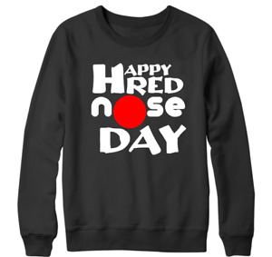Happy Red Nose Day Sweatshirt Funny comic relief Celebrate excitement Gift
