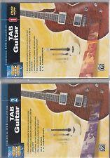 Set of Tab Guitar DVD I and II Volumes Ron Manus