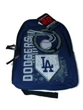 Los Angeles Dodgers Backpack Blue 3D Raised Graphics NEW WITH TAGS