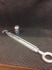 Chicago 1�x18� Forged Hook & Eye Galvanized Turnbuckle 5000lbs Large Turnbuckle