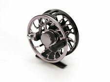 Fly reel 3/5 wt. carbon multi disk drag CNC machine cut completely waterproof vz