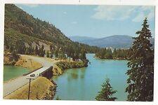 Roosevelt Lake in the Coleville Valley, WA Vintage Washington State Postcard